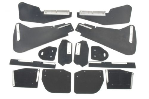 Set of mud flaps for body - Saloon